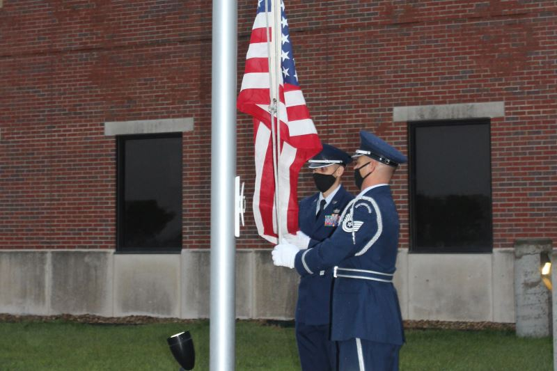 190th Air Refueling Wing 9-11 ceremony