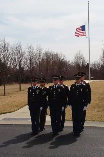 Military Funeral Honors team