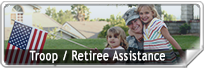 Troop and retiree Assistance graphic