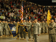 2-137th Deployment Ceremony